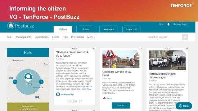 Informing the citizen VO - TenForce - PostBuzz