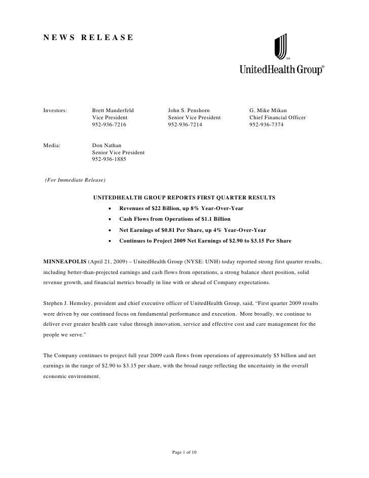 NEWS RELEASE     Investors:          Brett Manderfeld                 John S. Penshorn                  G. Mike Mikan     ...