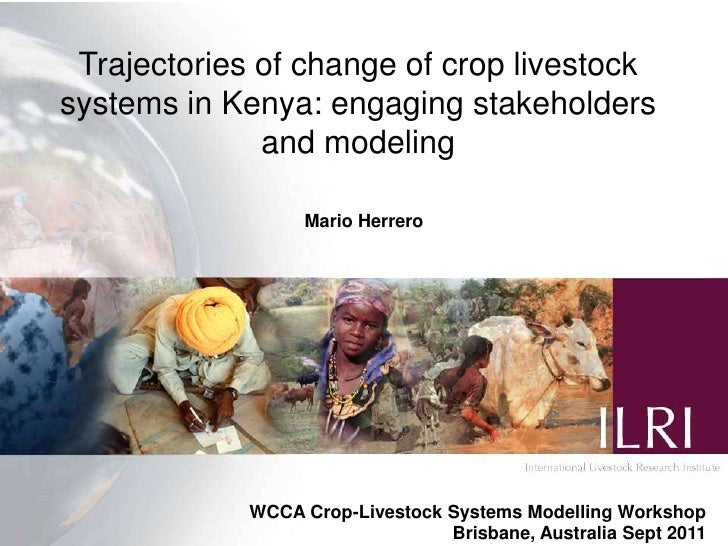 Trajectories of change of crop livestocksystems in Kenya: engaging stakeholders              and modeling                 ...