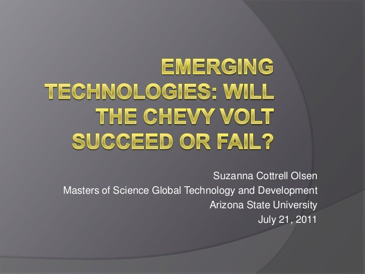 Suzanna Cottrell OlsenMasters of Science Global Technology and Development                               Arizona State Uni...