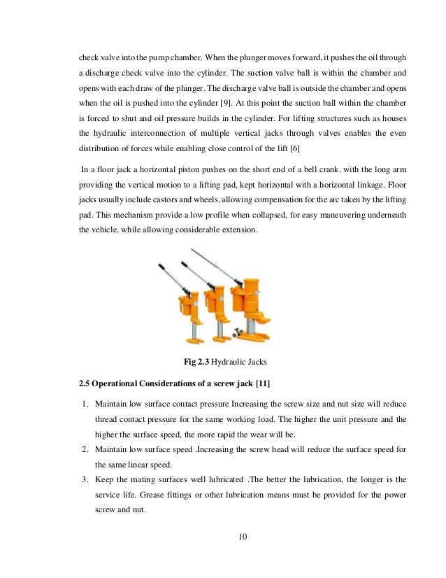 Design and fabrication of a power scissor jack for Top floor meaning