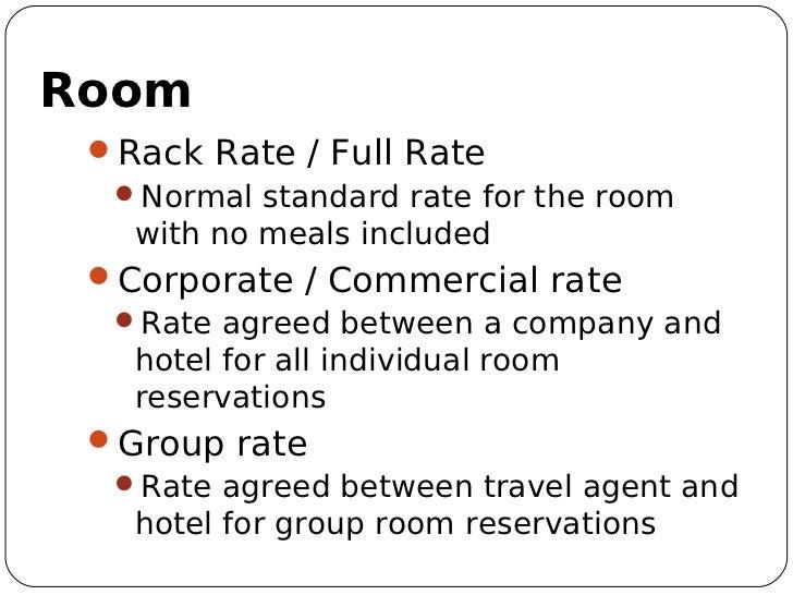 26 Room Rack Rate