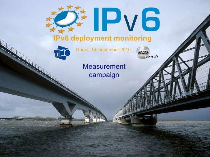 Rob Smets - IPv6 deployment monitoring