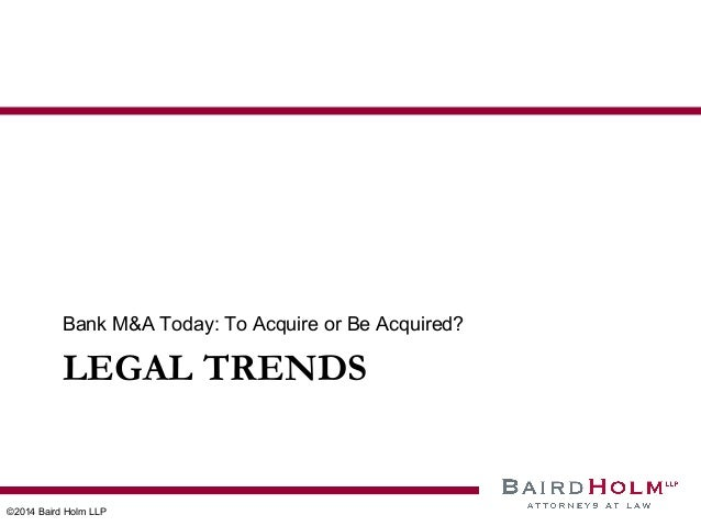 2014 Trends in Bank Mergers & Acquisitions, Social Media