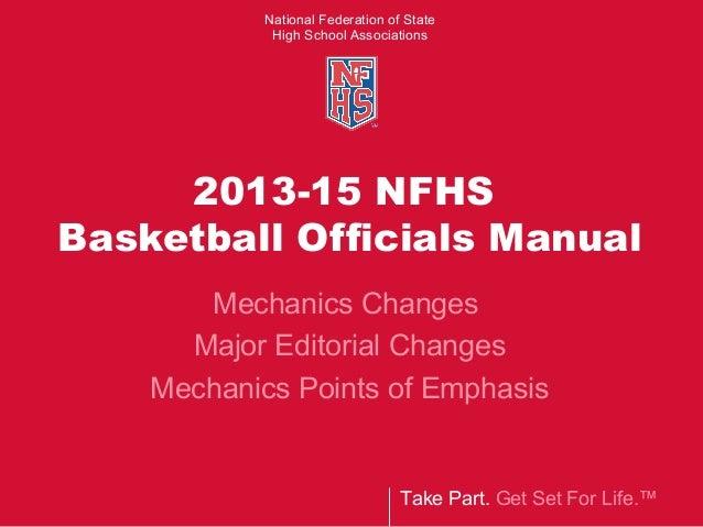 2013 15 basketball 3 man mechanics nfhs rh slideshare net NFHS Concussion Certificate NFHS Concussion Certificate