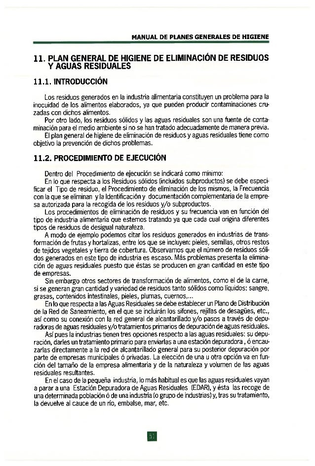 1337163120 manual de planes generales de higiene for Manual de limpieza y desinfeccion en industria alimentaria