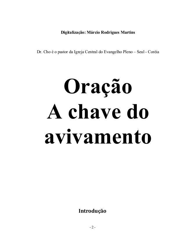 oracao-a-chave-do-avivamento-paul-yonggi-cho