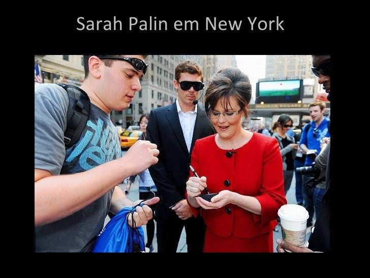 Sarah Palin em New York