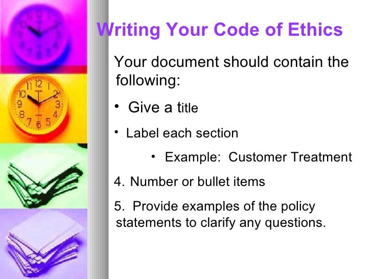 How to Write a Code of Conduct