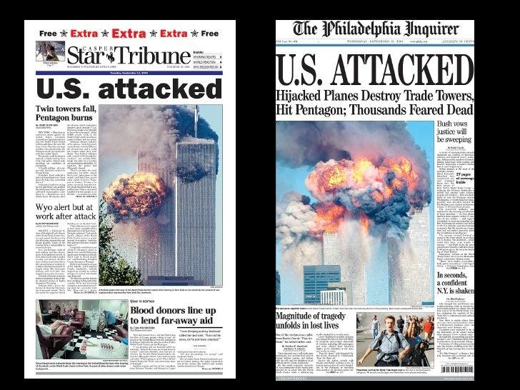 11.09.2001 FRONTPAGES Slide 22