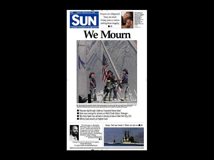 11.09.2001 FRONTPAGES Slide 40