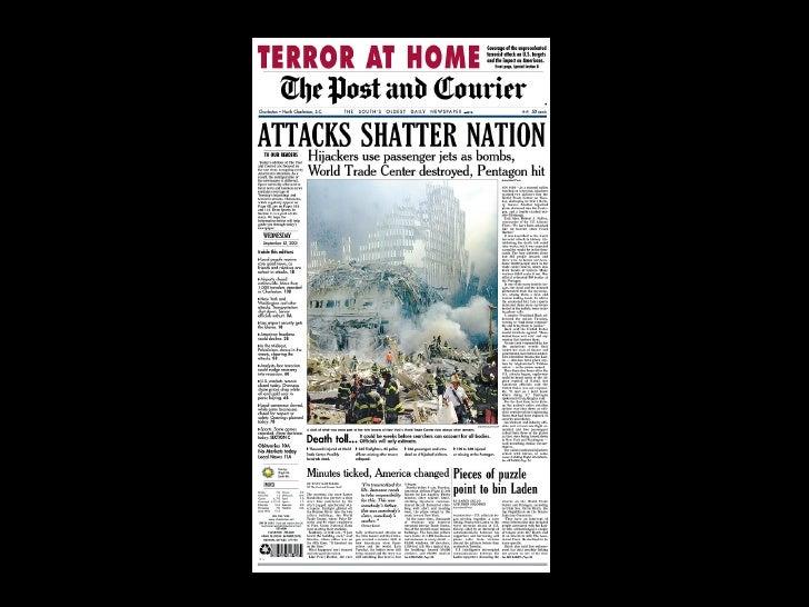 11.09.2001 FRONTPAGES Slide 65