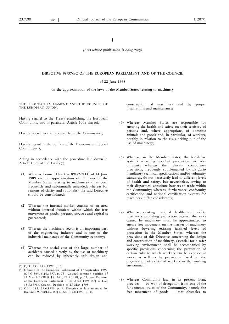 23.7.98              EN               Official Journal of the European Communities                                   L 207...