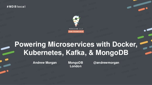 Powering Microservices with Docker, Kubernetes, Kafka, and