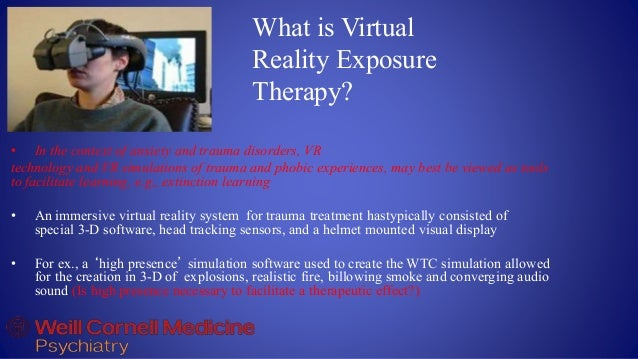 Vr And The Health Sciences