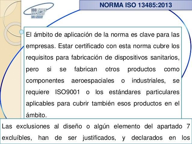El ámbito de aplicación de la norma es clave para las empresas. Estar certificado con esta norma cubre los requisitos para...