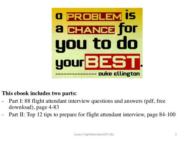 88 flight attendant interview questions and answers fandeluxe Choice Image