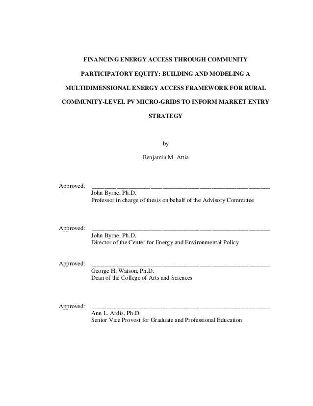 Benjamin vigoda dissertation