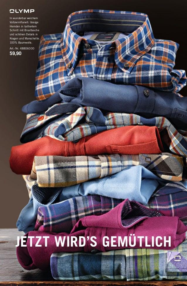 In wunderbar weichem Vollzwirnflanell: lässige Hemden in tailliertem Schnitt mit Brusttasche und schönen Details in Kragen ...