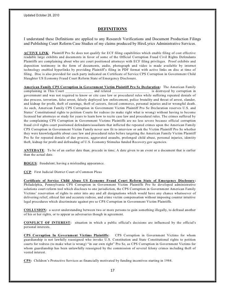 102810 HireLyrics Standard Access Intake Form State Court