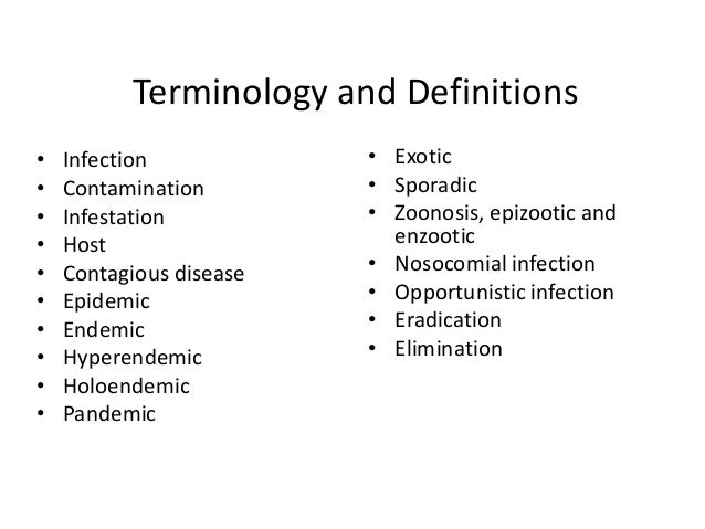 What are examples of sporadic disease?