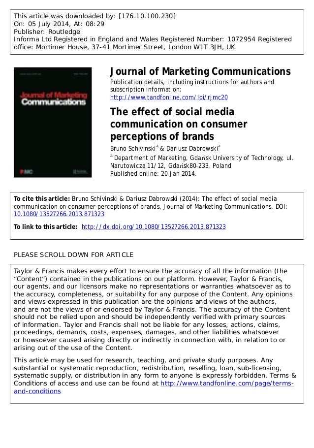 The Effect of Brand Awareness on Consumer Buying Behavior