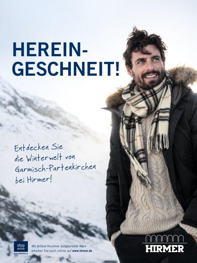 HEREINGESCHNEIT!  Entdecken Sie die Winterwelt von Garmisch-Partenkirchen bei Hirmer!  Mit Artikel-Nummer ausgepreiste War...