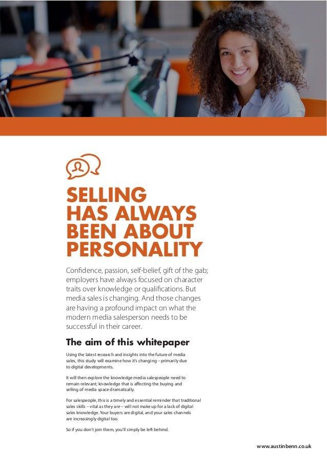 Austin Benn - Changing face of Media Sales whitepaper Slide 2