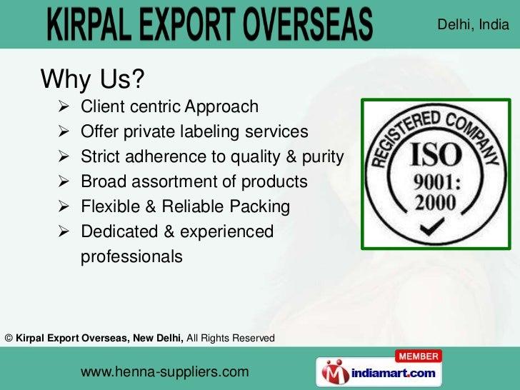 Kirpal Export Overseas  New Delhi India Slide 3