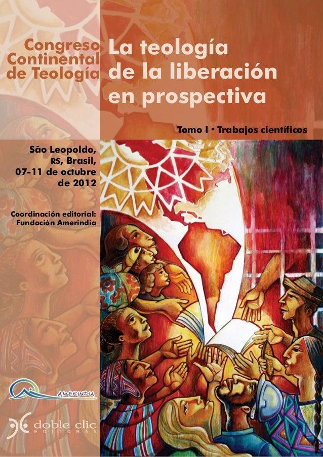 CongresoContinental                          La teologíade Teología               de la liberación                        ...