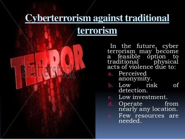 traditional terrorism