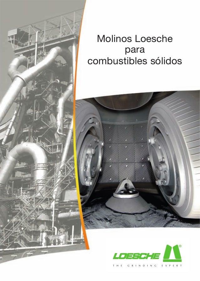 Molinos Loesche        paracombustibles sólidos