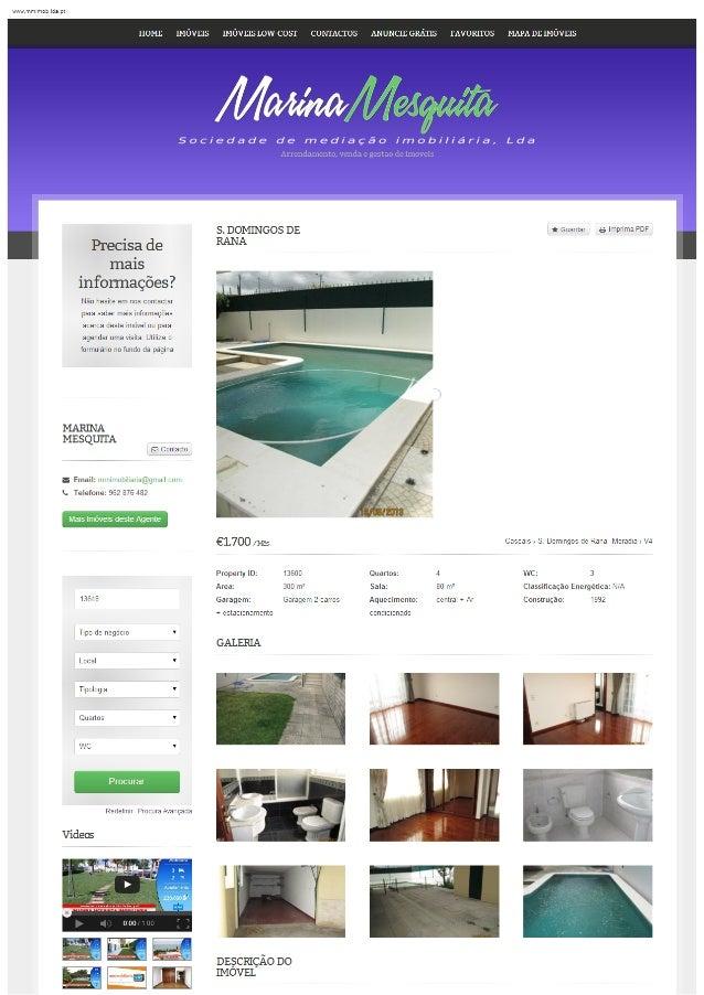 S. Domingos de Rana – moradia V4 com jardim e piscina para arrendar, sem moveis