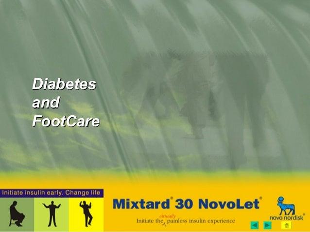 DiabetesDiabetes andand FootCareFootCare