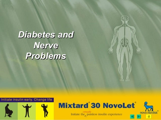 Diabetes andDiabetes and NerveNerve ProblemsProblems