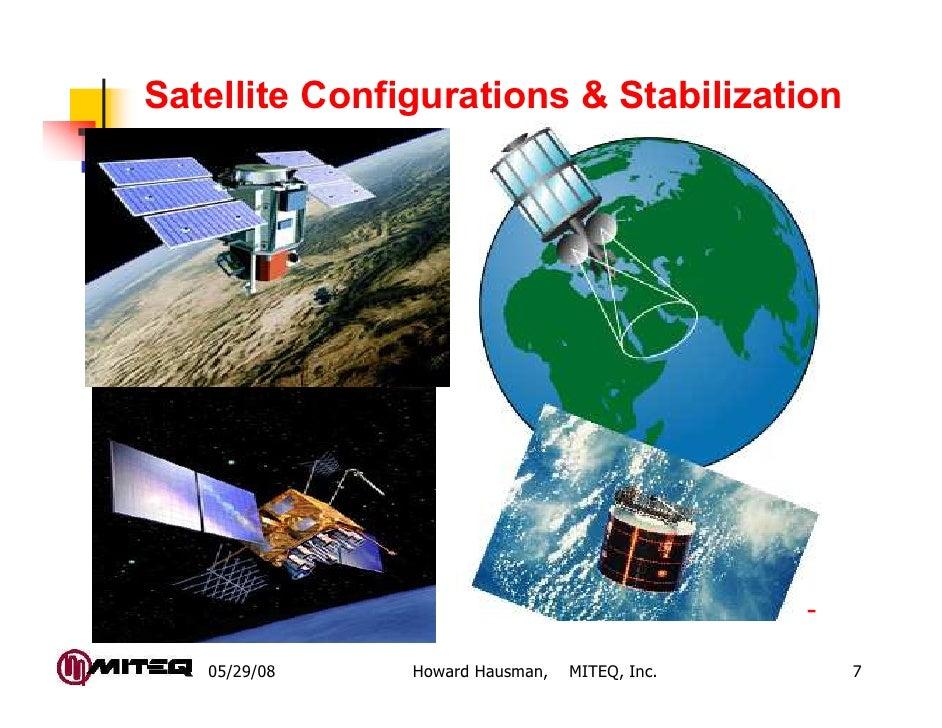 Satellite Configurations & Stabilization                                               -   05/29/08    Howard Hausman,   M...
