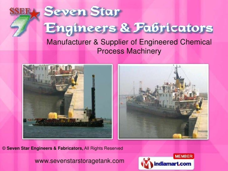 Manufacturer & Supplier of Engineered Chemical Process Machinery<br />