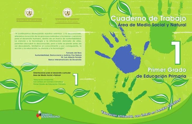 MINISTERIO DE EDUCACIÓN                    MINISTERIO DE AMBIENTE                                             Y RECURSOS N...