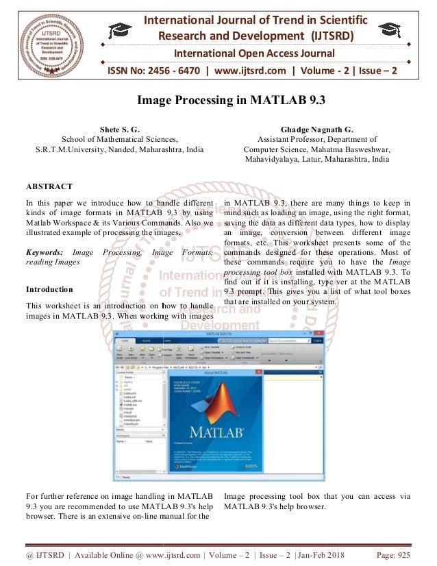 Imagesc Matlab