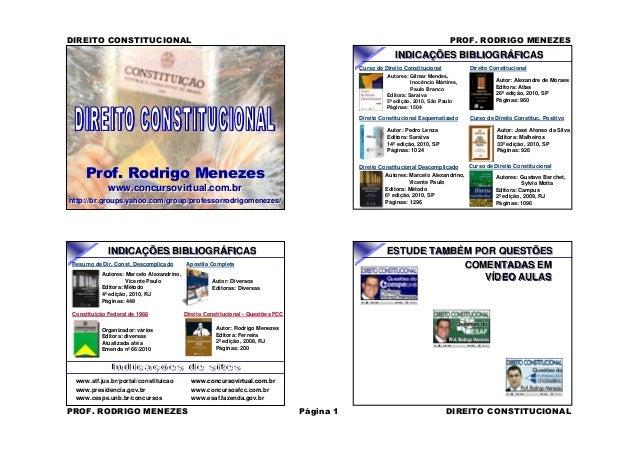 Prof. Rodrigo Menezes www.concursovirtual.com.br http://br.groups.yahoo.com/group/professorrodrigomenezes/ Prof. Rodrigo M...