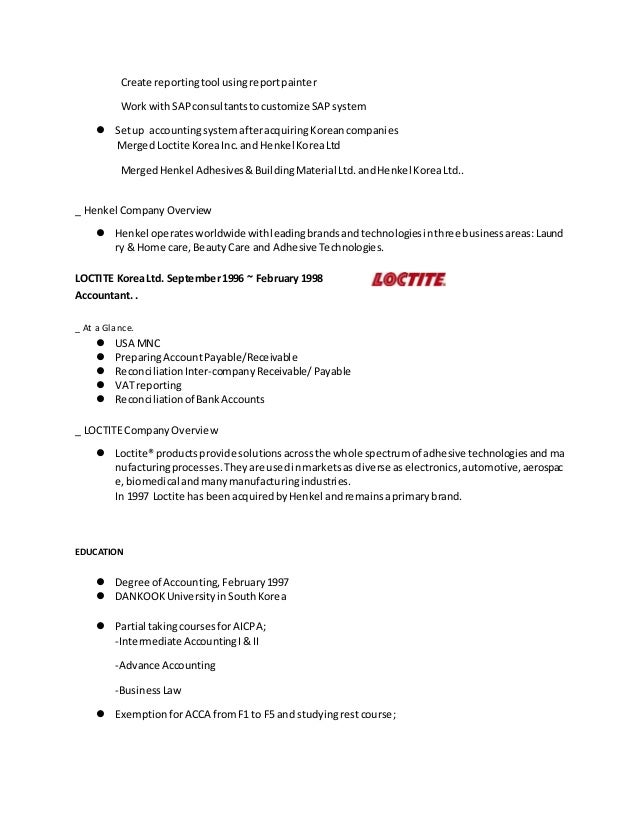 cover letter resume english korean