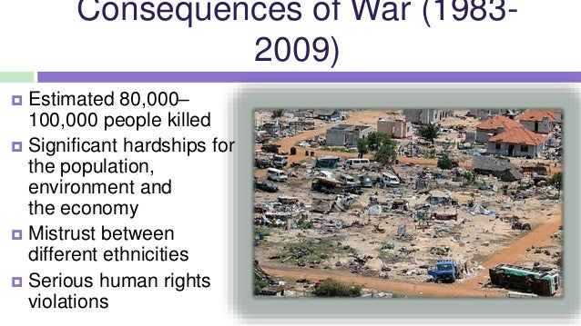 the consequences of sri lankas civil war On 26 december 2004, the indian ocean tsunami struck sri lanka, killing more  than 35,000 people and leaving many.