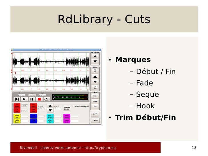 RdLibrary - Cuts                                                   ●   Marques                                            ...