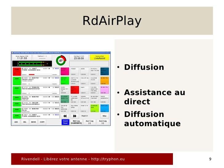 RdAirPlay                                                   ●   Diffusion                                                 ...