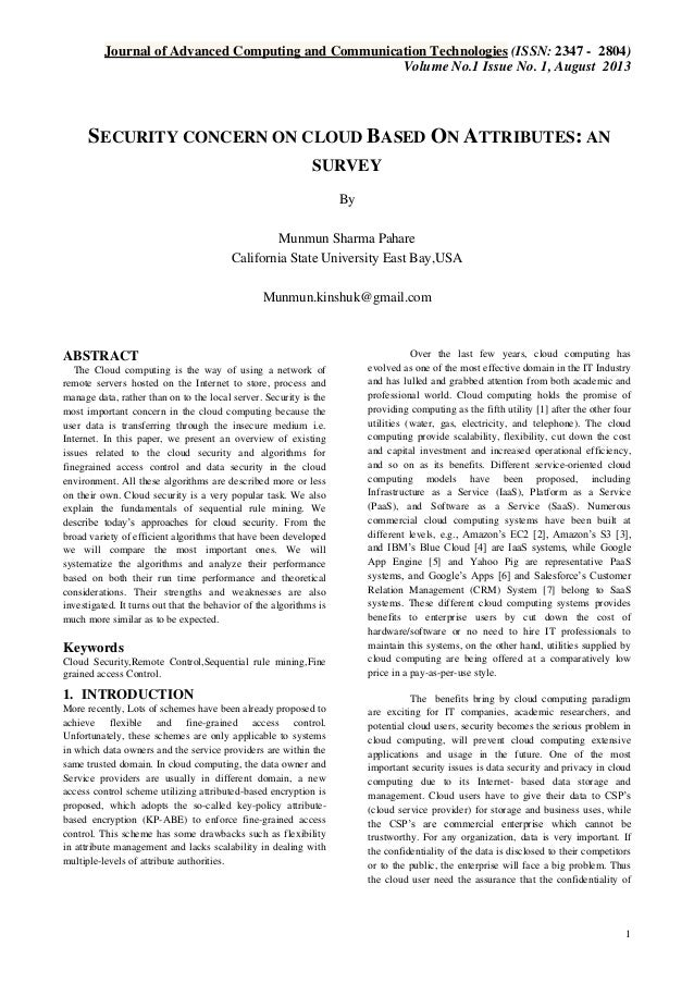 Journal of Advanced Computing and Communication Technologies (ISSN: 2347 - 2804) Volume No.1 Issue No. 1, August 2013  SEC...