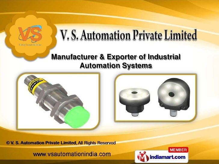 Manufacturer & Exporter of Industrial       Automation Systems