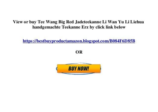 View or buy Tee Wang Big Red Jadeteekanne Li Wan Yu Li Liehua handgemachte Teekanne Erz by click link below https://bestbu...