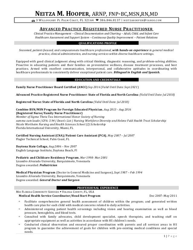 Neitza Hooper\'s Final Resume (Mod 8 Complete FL Ad)