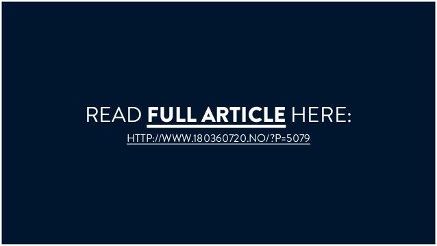 cb435e816fe772 READ FULL ARTICLE HERE  HTTP   WWW.180360720.NO  P 5079