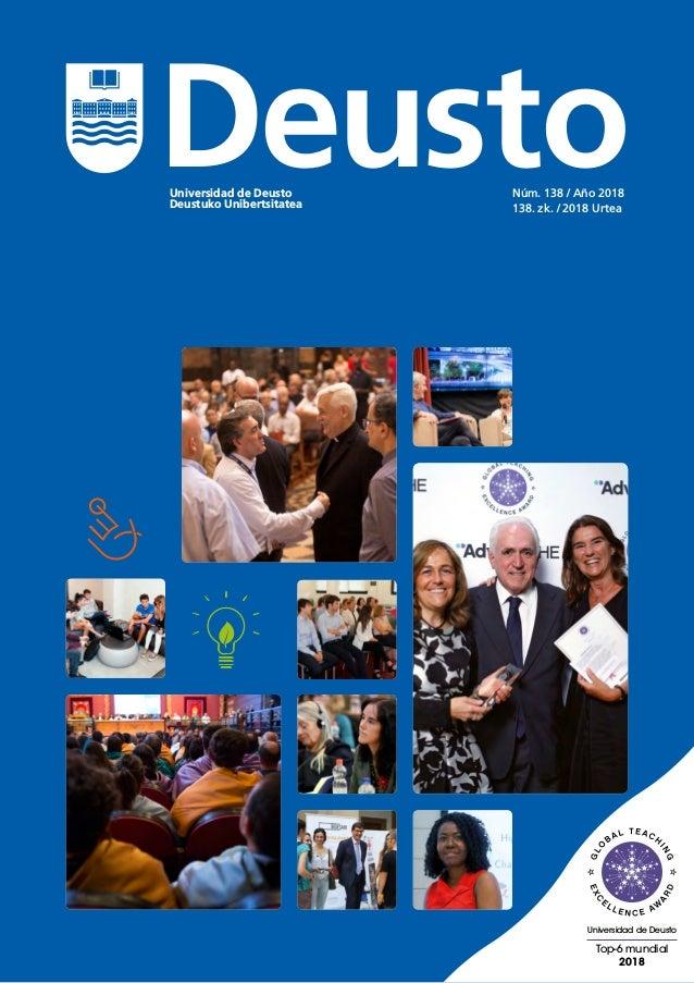 Top-6 mundial 2018 Universidad de Deusto Universidad de Deusto Deustuko Unibertsitatea Núm. 138 / Año 2018 138. zk. / 2018...